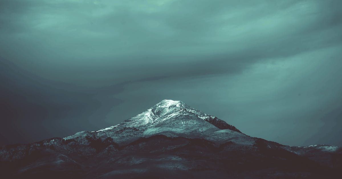 A view of a mountain